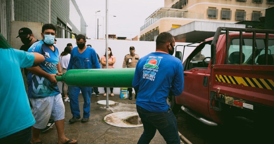 Campanhas reúnem doações para combate à crise por falta de oxigênio na cidade de Manaus