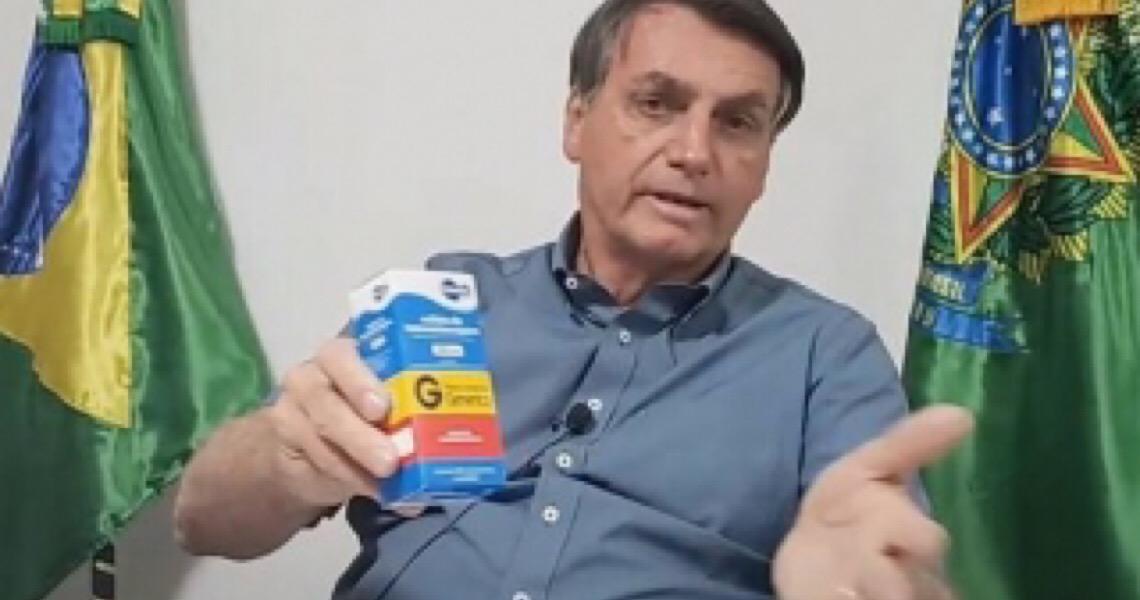 Sem saber como agir, Bolsonaro pensa ser médico e insiste em 'tratamento precoce' contra a Covid