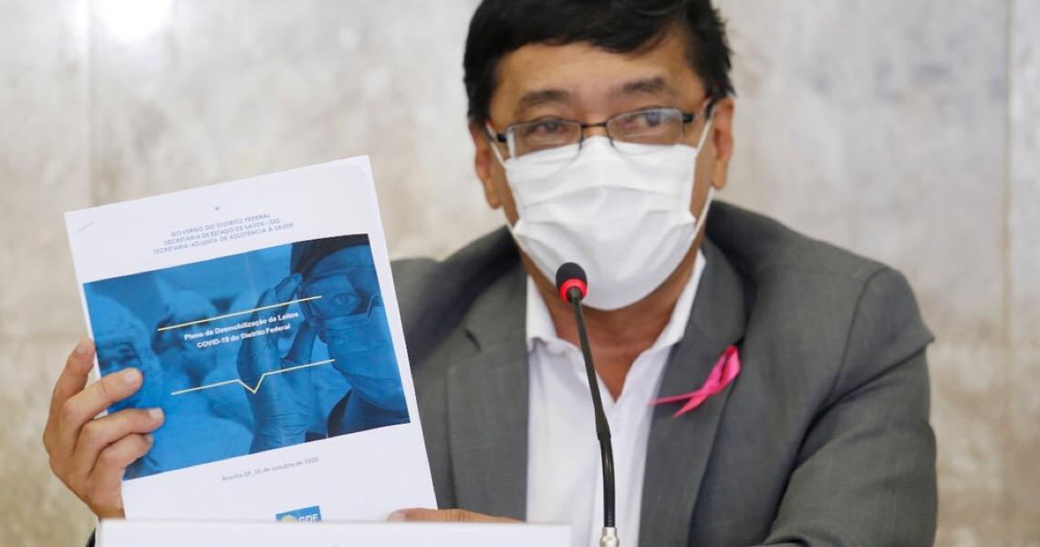 Covid-19: 'A partir de quarta-feira, às 10h, estaremos iniciando a vacinação', diz secretário de Saúde do DF