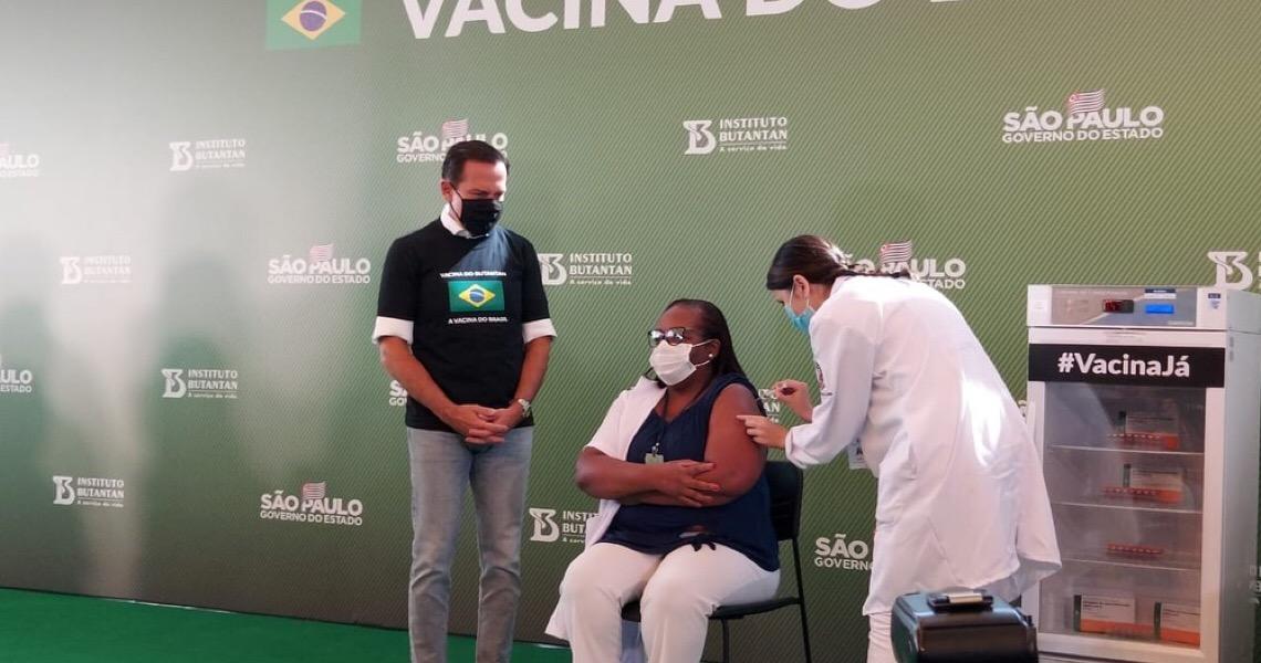 Planalto age para evitar que Doria capitalize efeitos da vacinação na eleição de 2022
