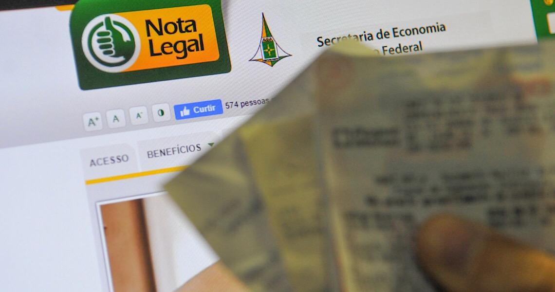 Mais de 420 mil contribuintes podem se inscrever no Nota Legal