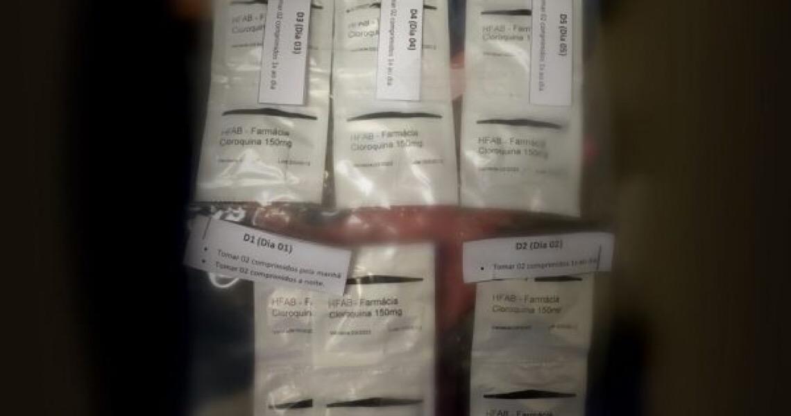 Oficiais médicos da FAB são obrigados a receitar kit cloroquina em hospital do DF