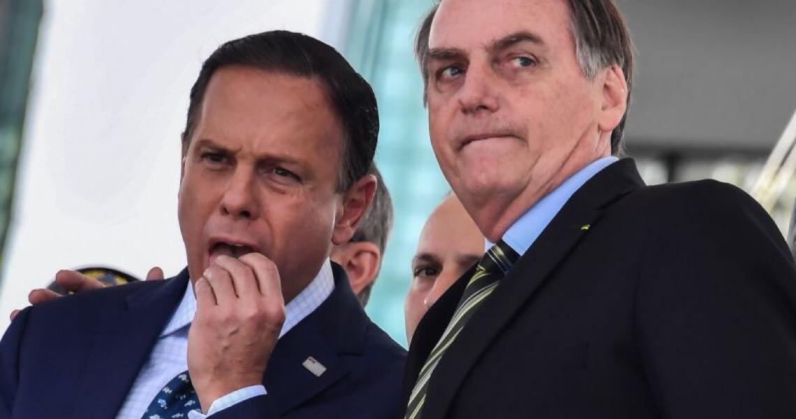 """Para Bolsonaro, Doria terá o troco em breve. """"A hora dele vai chegar"""""""
