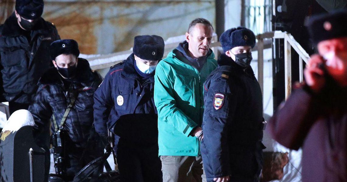 EUA e Europa cobram libertação do opositor russo Alexei Navalny