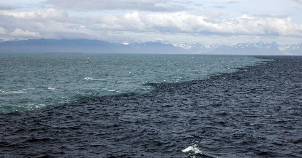 Oceano Atlântico e Pacífico não se misturam, falso ou verdadeiro?