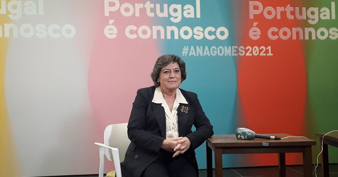 'Bolsonaro só semeia insegurança e violência', diz  candidata à presidência de Portugal