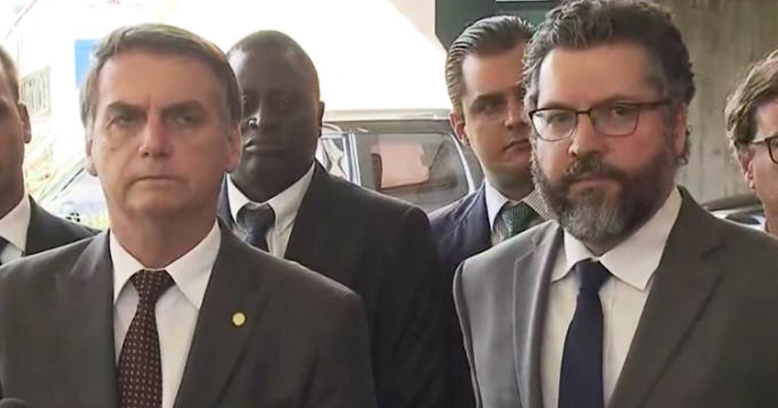 E agora, Bolsonaro e Ernesto? Como vocês tratarão a China?