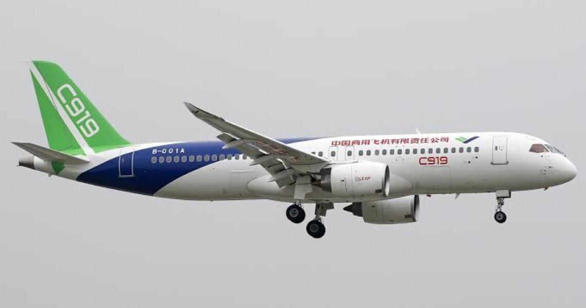 Avião chinês C919 realiza testes bem-sucedidos sob tempo frio