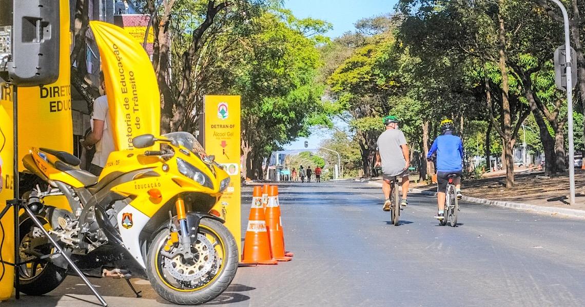 Em domingo de Enem, segurança é reforçada na área do Viva W3