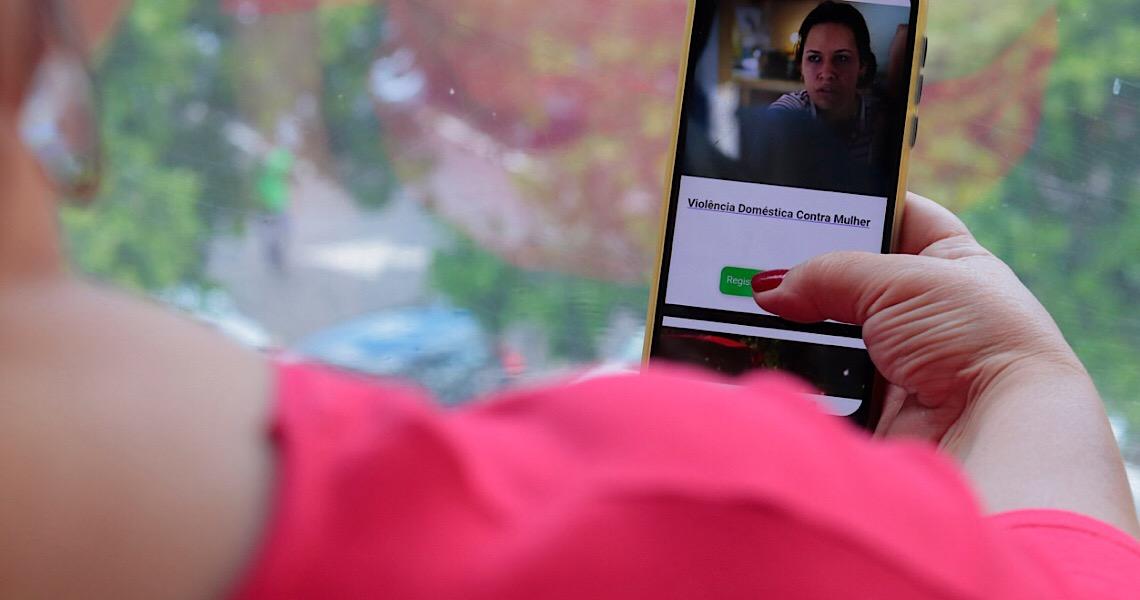 Denúncia de violência doméstica no DF agora pode ser on-line