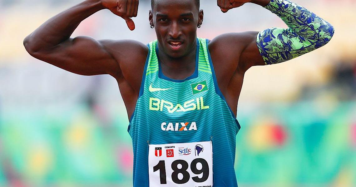 Gabriel Constantino é bronze em Meeting Indoor na França
