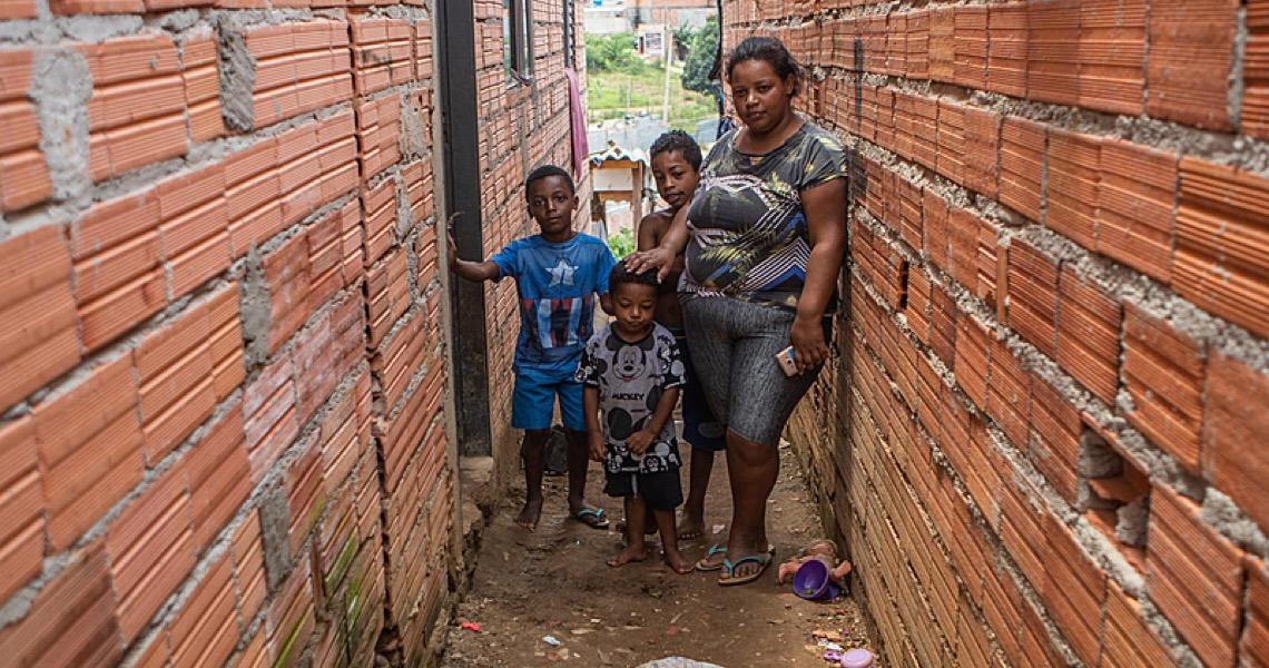 No Grajaú, o drama das mães que perderam o auxílio: