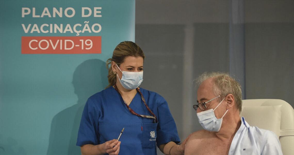 Portugal começa a vacinar bombeiros contra Covid-19