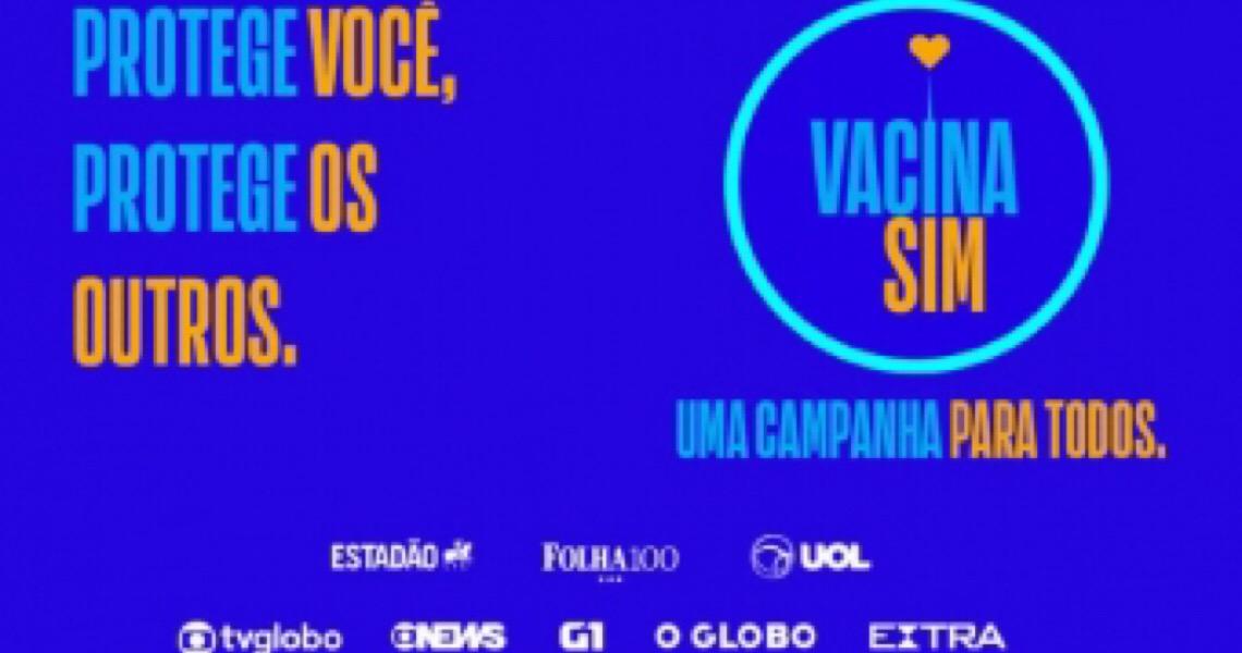 Veículos de imprensa lançam nova fase de campanha sobre importância da vacinação