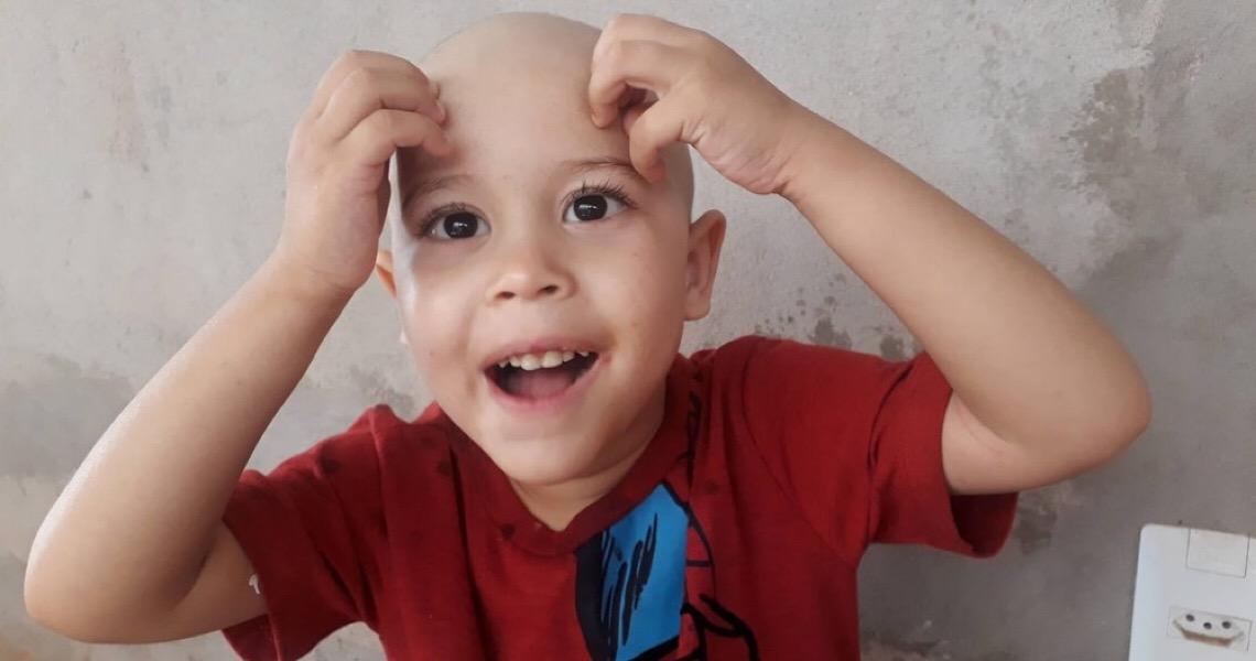No Dia Internacional de Luta Contra o Câncer Infantil conheça a história de João Guilherme, de 4 anos
