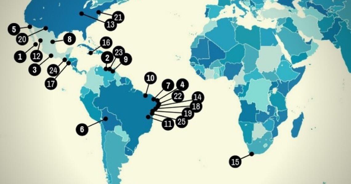 Se cuide! Essas são as 25 cidades mais perigosas do mundo