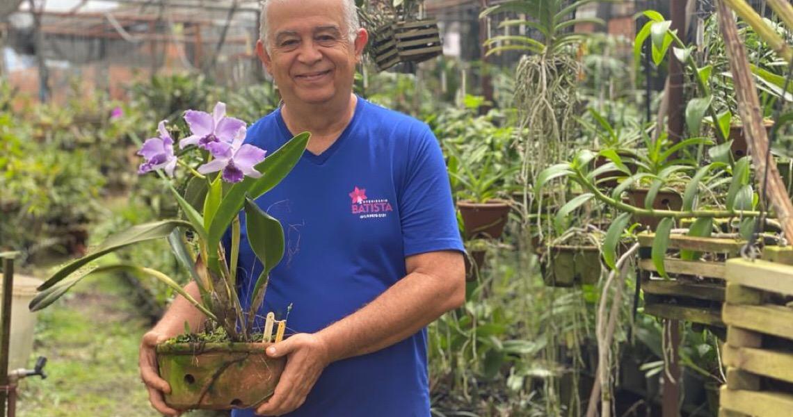 Orquídeas, um bom negócio na terceira idade