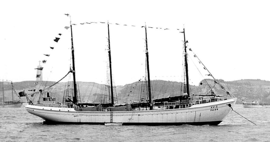 A última frota à vela em operação no mundo