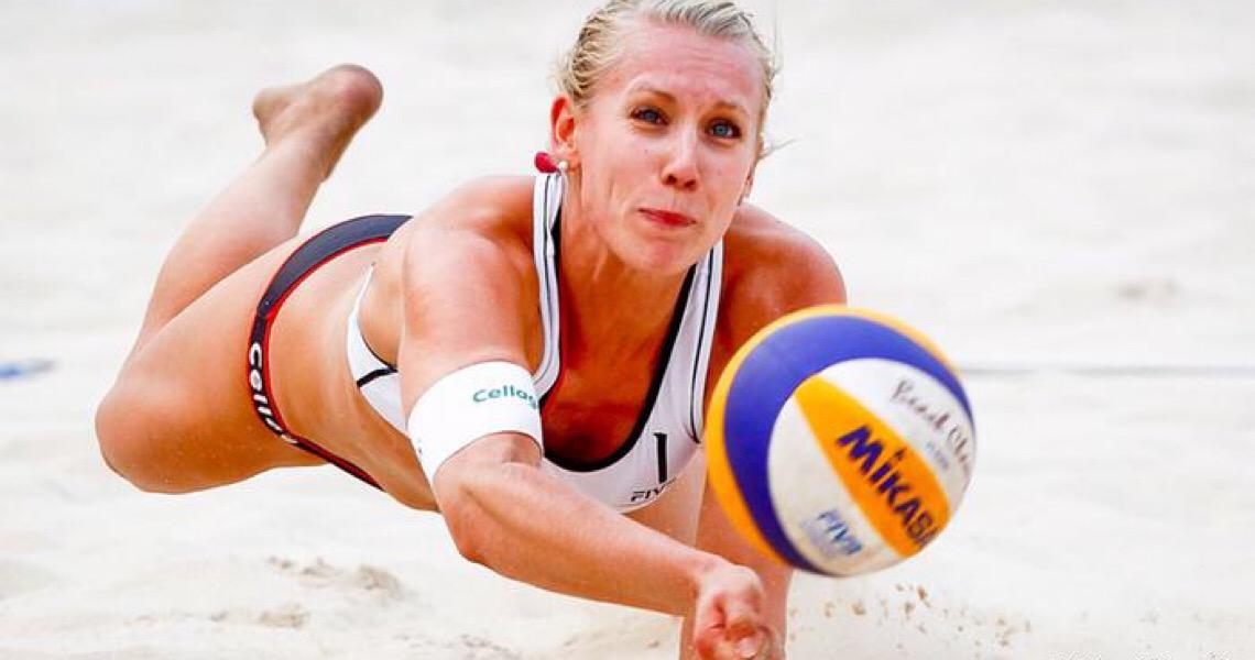 Dupla alemã de vôlei de praia boicota Catar por veto a biquíni
