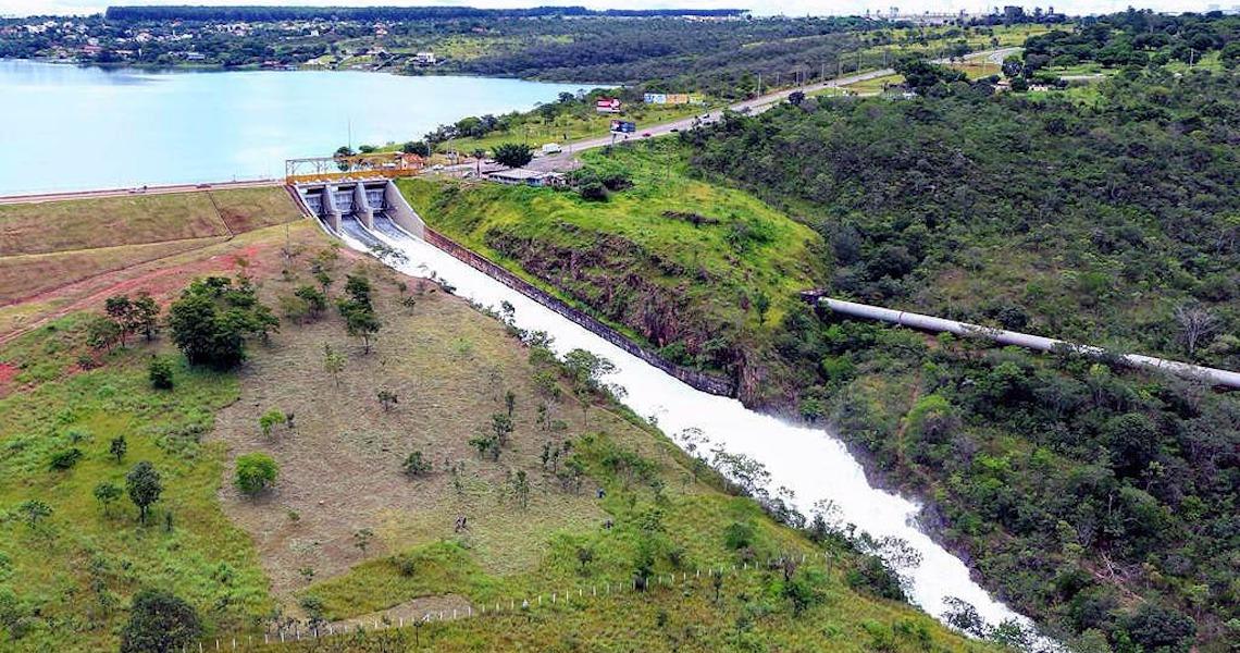Nível do Lago Paranoá volta à normalidade