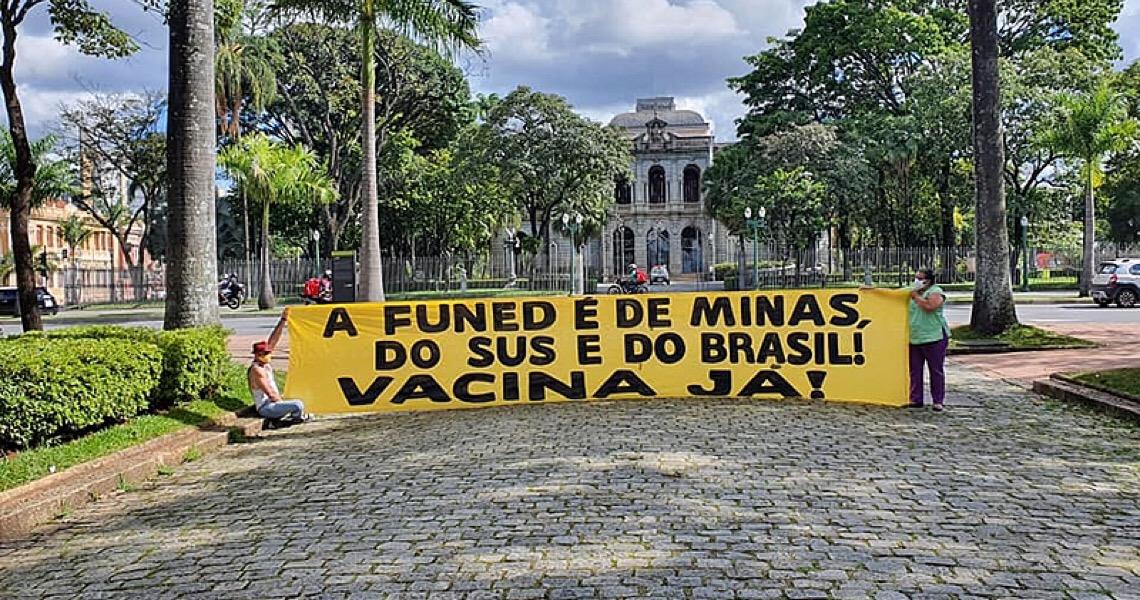 Ato pressiona governo de Minas Gerais a produzir vacina contra covid-19 pela Funed