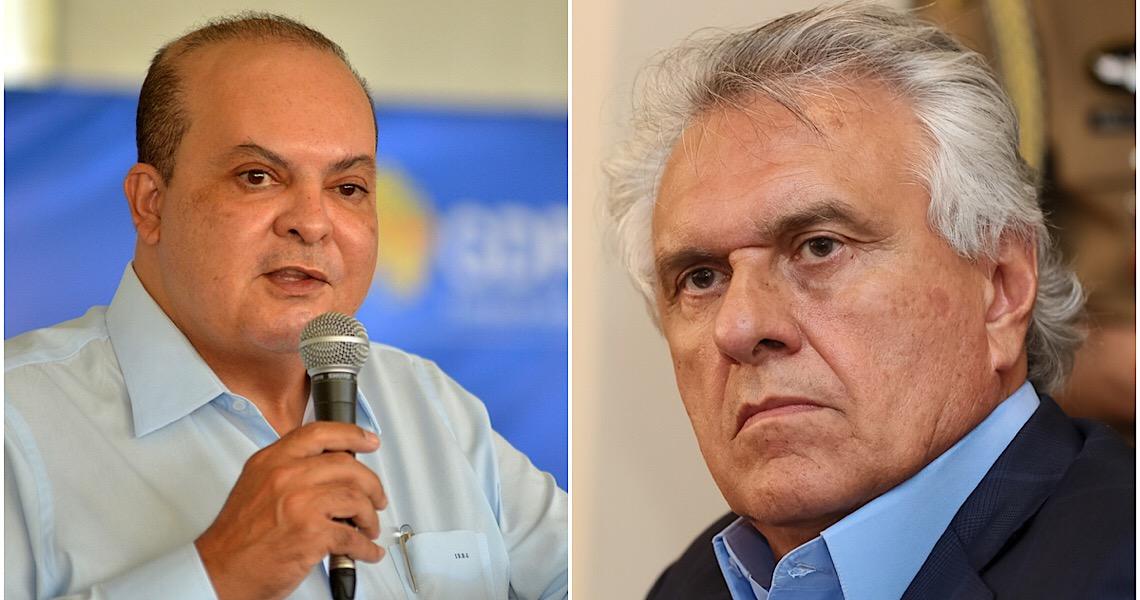 Rivalidade entre Ibaneis Rocha e Ronaldo Caiado não é de hoje