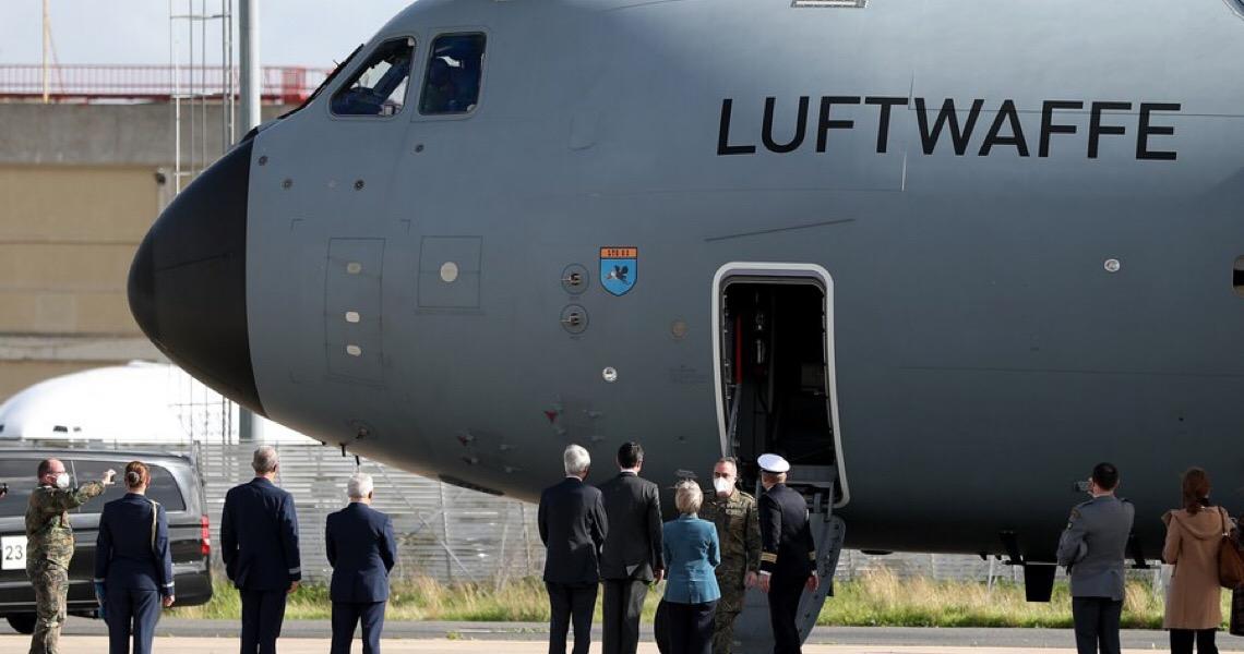 Portugal recebe 2ª equipe de médicos do exército alemão para ajudar a combater Covid-19