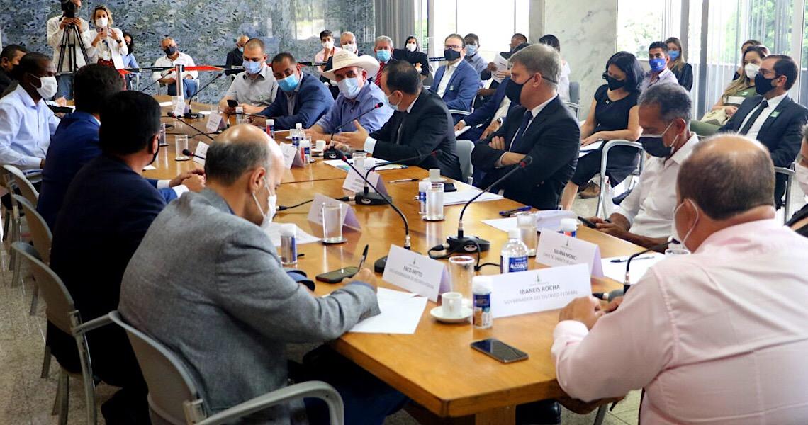 DF faz pacto com municípios do Entorno para conter a disseminação da Covid-19
