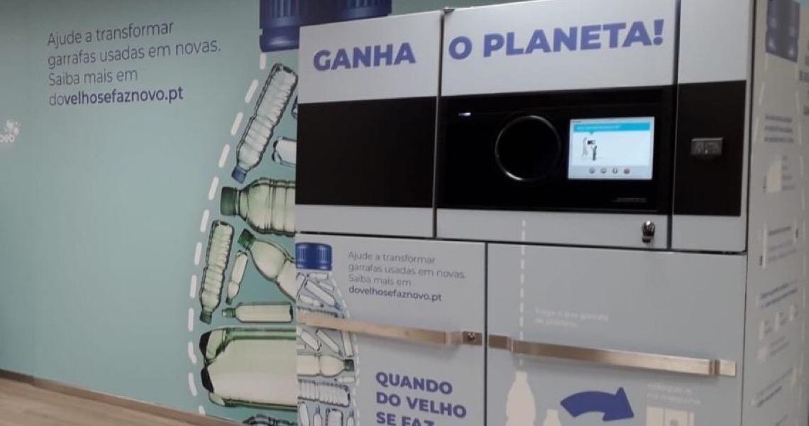 Projeto recicla 350 toneladas de garrafas plásticas em um ano em Portugal