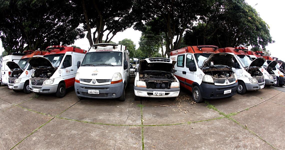 Secretaria de Economia do DF faz leilão on-line de veículos e móveis