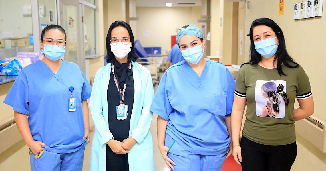 Cai número de partos ocorridos durante a pandemia no Hospital de Santa Maria