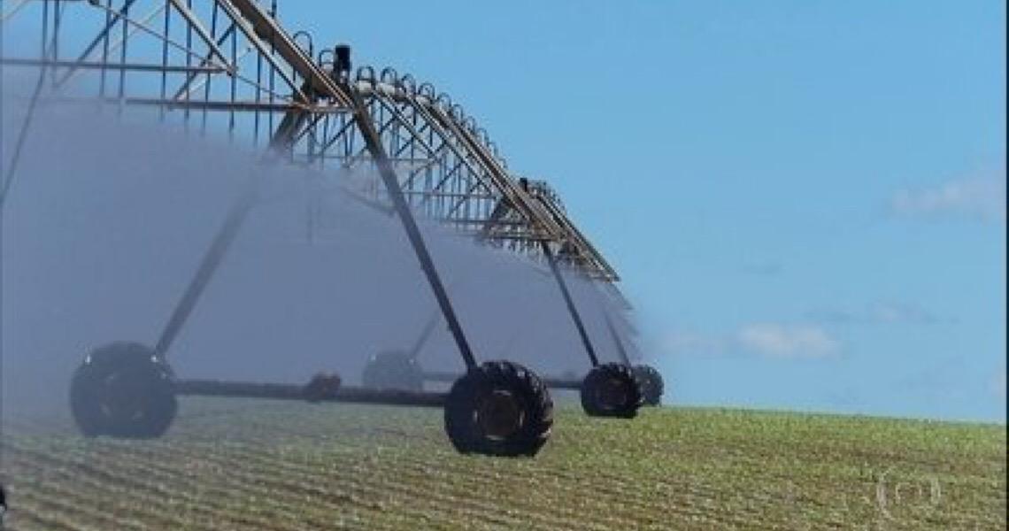 Irrigação usa quase metade de toda a água do Brasil para produzir alimentos