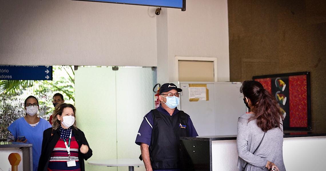 A importância dos vigilantes no combate ao coronavírus