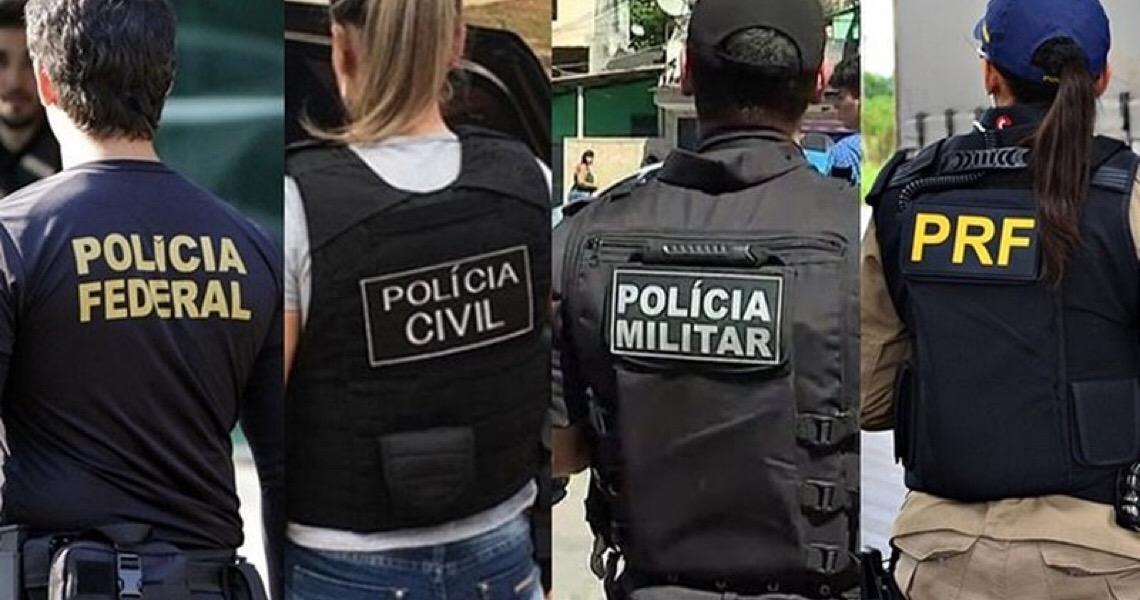 Policiais prestes a desembarcar do governo Bolsonaro