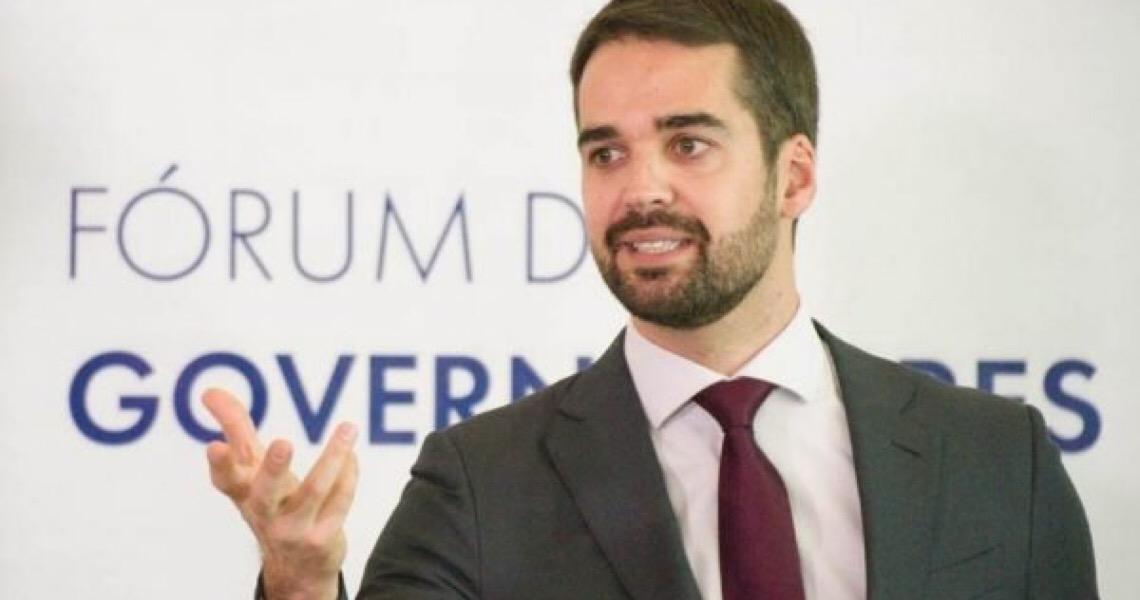 Deputada Bia Kicis provoca Eduardo Leite e governador gaúcho rebate