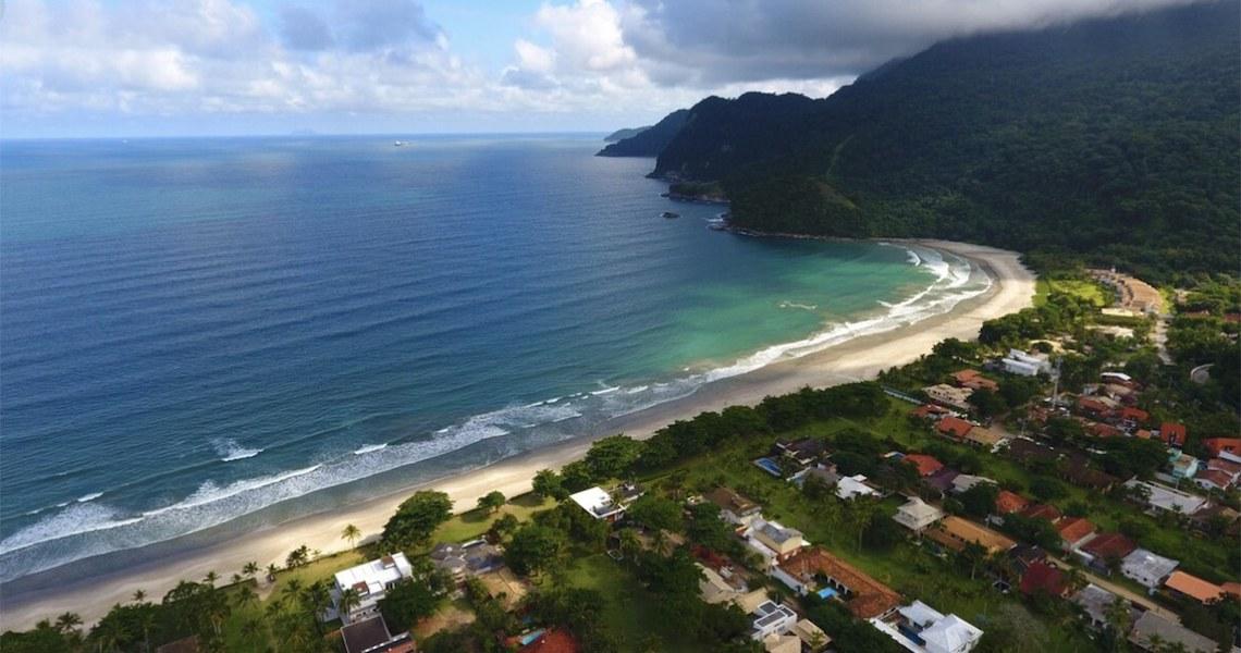 Praia de Guaecá, São Sebastião, e criação de APA