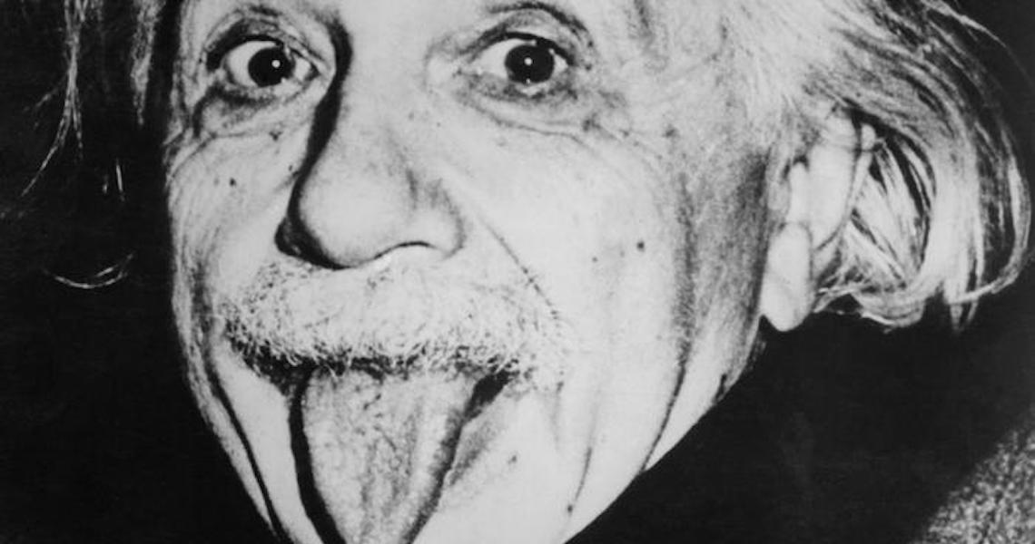Por que Albert Einstein mostrou a língua para o mundo?