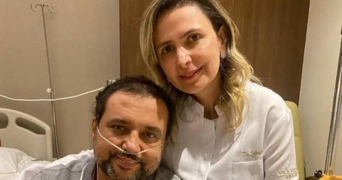 Geraldo Luís revela que médica Ludhmila Hajjar salvou sua vida