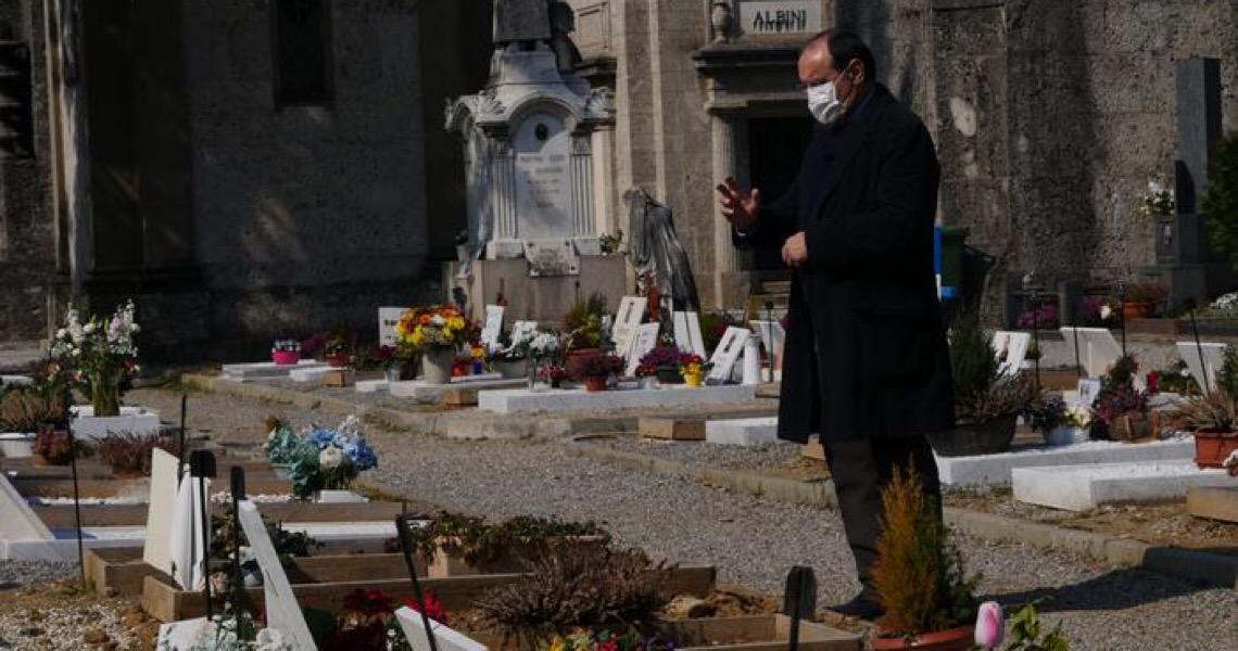 O trauma coletivo de Bérgamo após um ano de pandemia