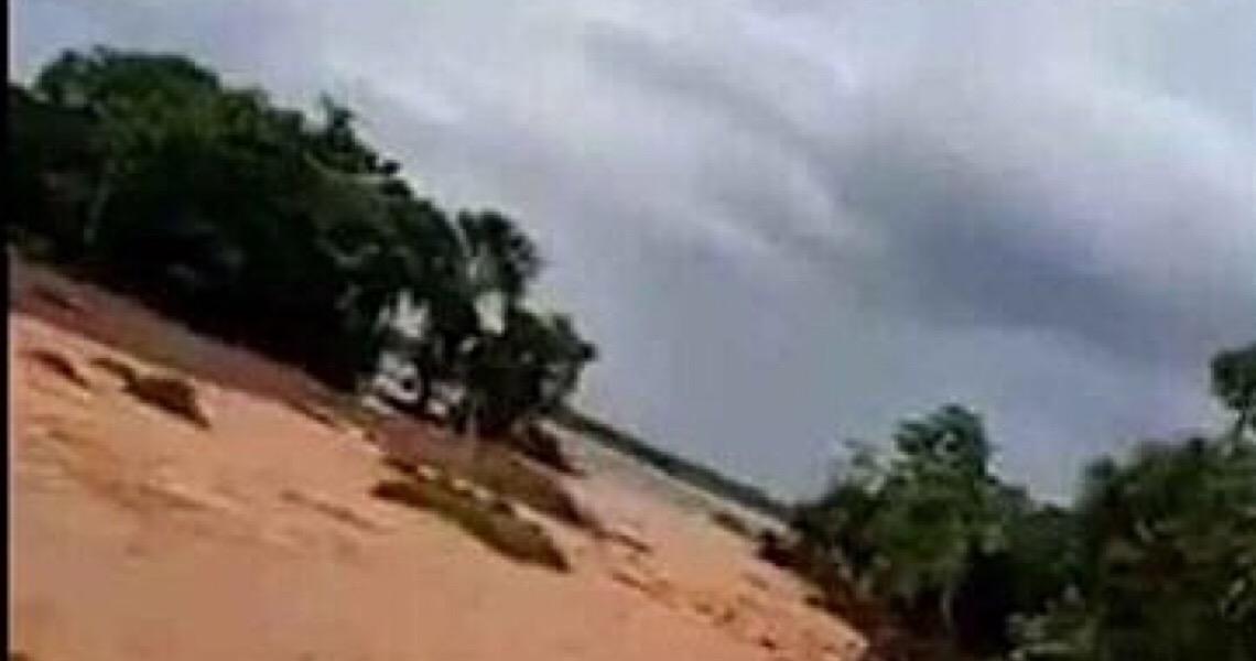 Rompe barragem na maior reserva de ouro do país e fecha entrada de cidade no Maranhão