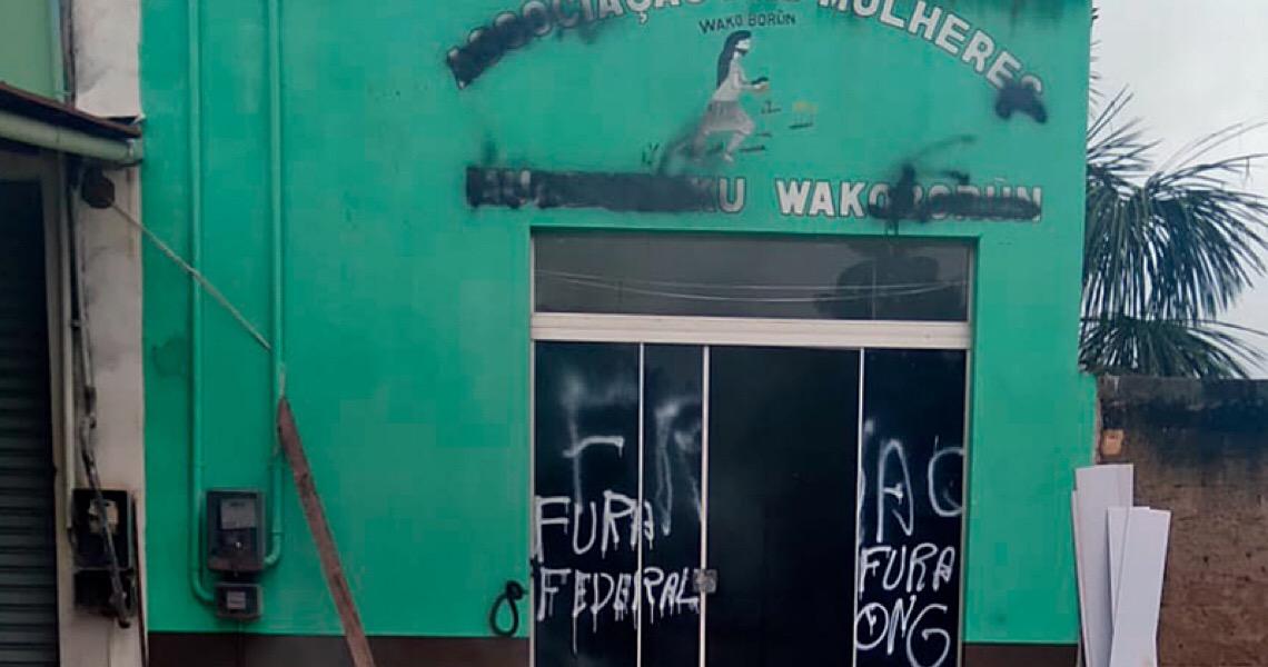 Garimpeiros atacam associação de mulheres indígenas Munduruku no Pará