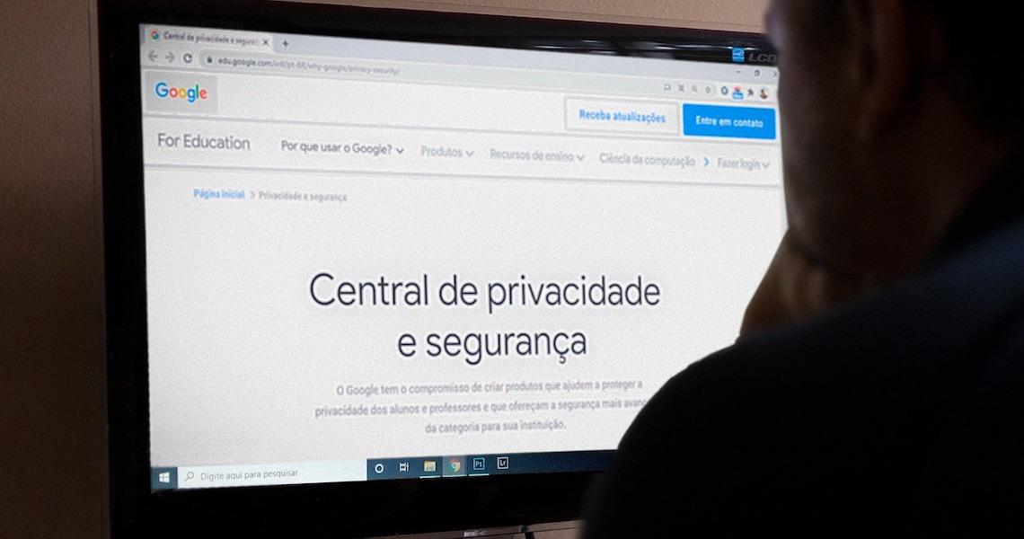 Orientações de segurança virtual para aulas on-line