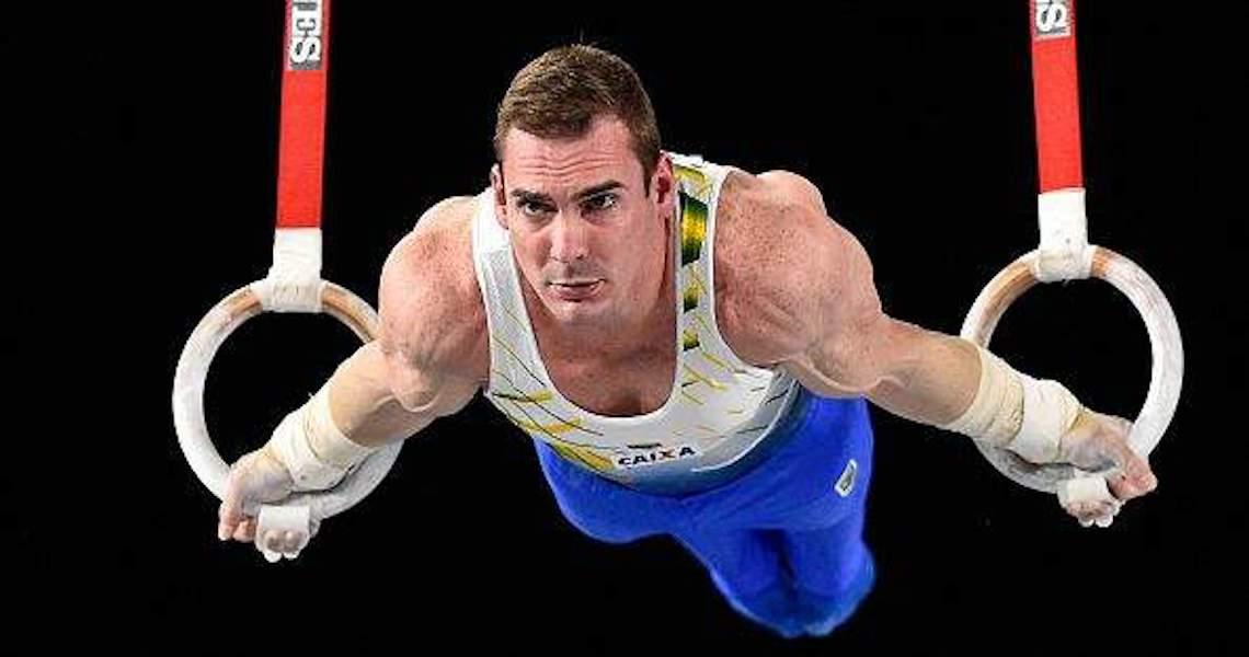 Focado em Tóquio, Arthur Zanetti segue preparação olímpica com a seleção no Rio
