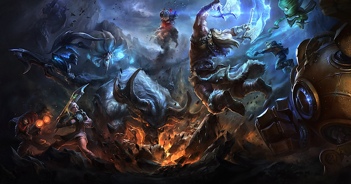 Vem aí o 2º campeonato de League of Legends
