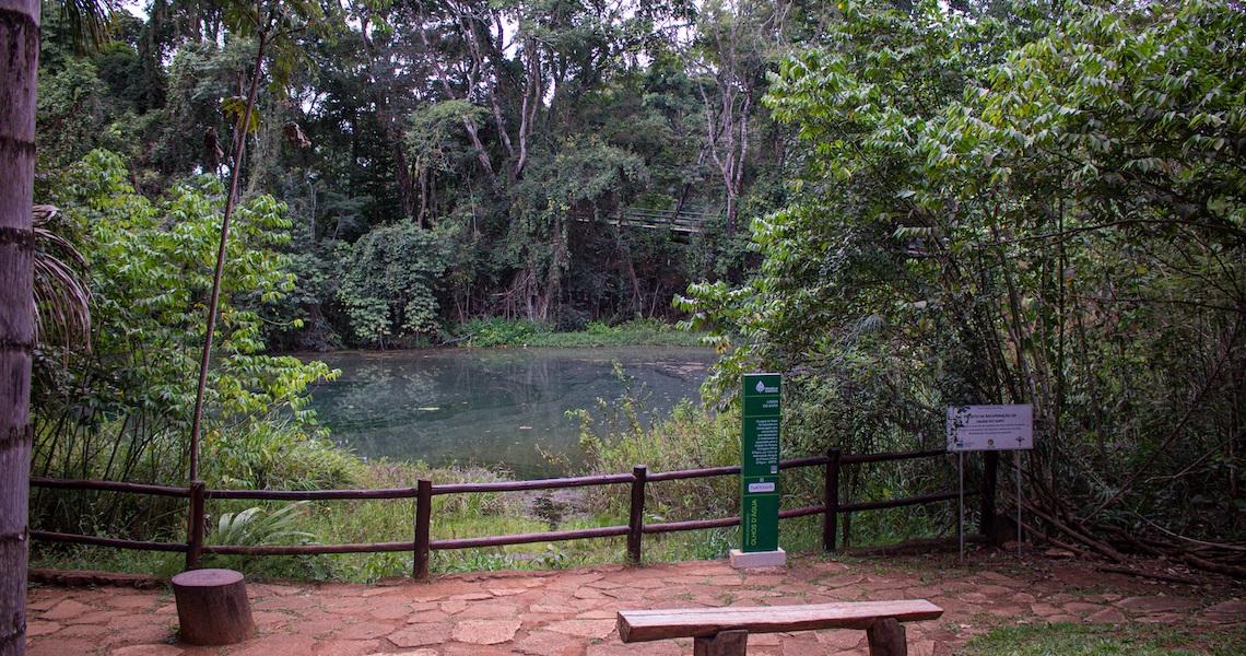 Olhos d'Água recebe melhorias pelo programa Reviva Parques