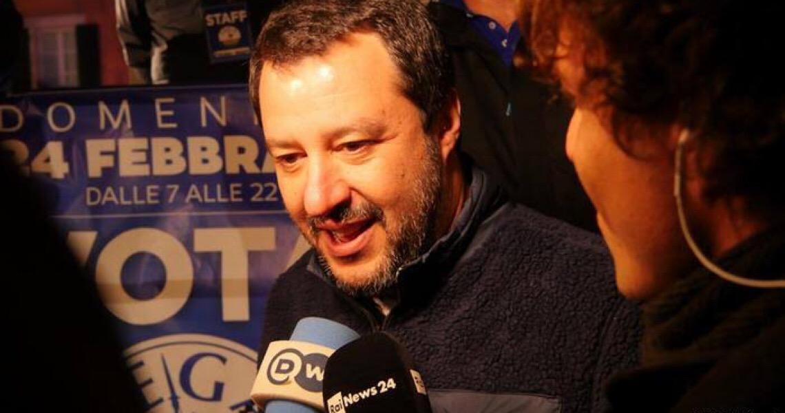 Matteo Salvini vira réu por sequestro em caso de migrantes