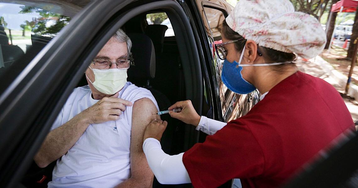 Vacinação no Parque da Cidade será no estacionamento 12