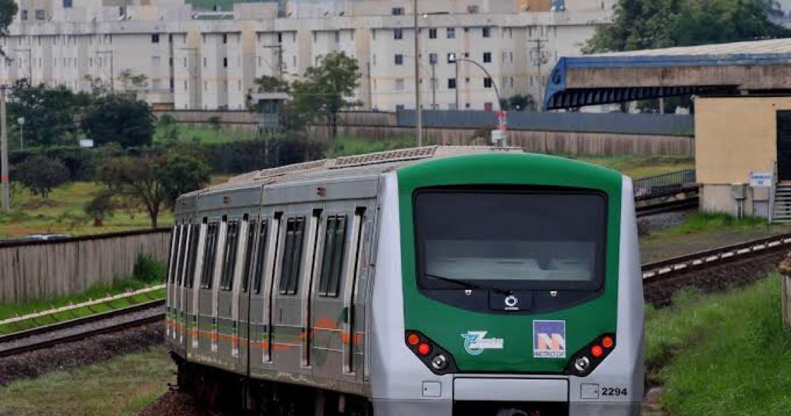 Metroviários do DF entram em greve a partir desta segunda-feira