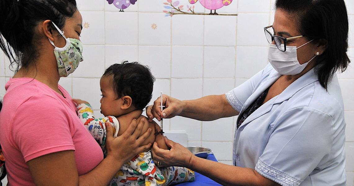 Calendário de vacinação infantil deve ser seguido mesmo na pandemia