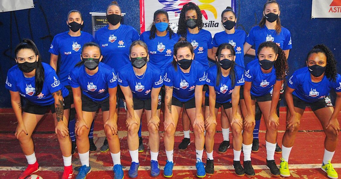 Futsal feminino do DF vai participar do novo campeonato   nacional